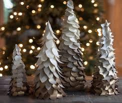 DIY Wedding Centerpieces Gold Ombre Winter Trees