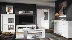 wohnzimmer komplett set c ullerslev 7 teilig farbe kiefer weiß