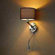 style hotel bedside wall l headboard reading l