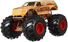 100 Monster Truck Decorations Hot Wheels All Beefed Up 124 Scale By Hot