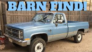 100 1986 Chevy Trucks For Sale Chevrolet K30 Brilliant Barn Find Chevrolet K30