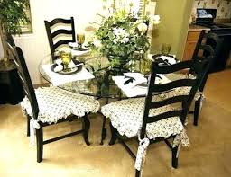 Literarywondrous Chair Cushions With Ties Kitchen Dining Pads Captivating Room For