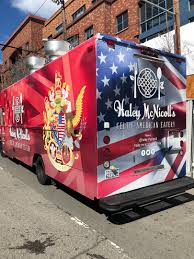 Haley McNicoll's Celtic American Eatery Food Truck LA Stainless Kings