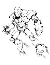 10 Images Of Iron Man Suit Coloring Pages Mark 42