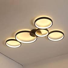 led deckenleuchte runde design deckenle wohnzimmer schlafzimmer deckenbeleuchtung hell groß le deko decke leuchte modern wohnzimmerlicht 3000k
