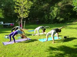 LIVE Music Outdoor Yoga Class At Glen Park With Jeannine Giffear