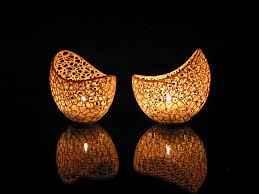 Image Of Easy DIY Room Decor Ideas To 3D Print Filigree Double Wall Tealight Holder