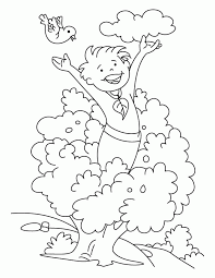 Clean Environment To Play Coloring Pages