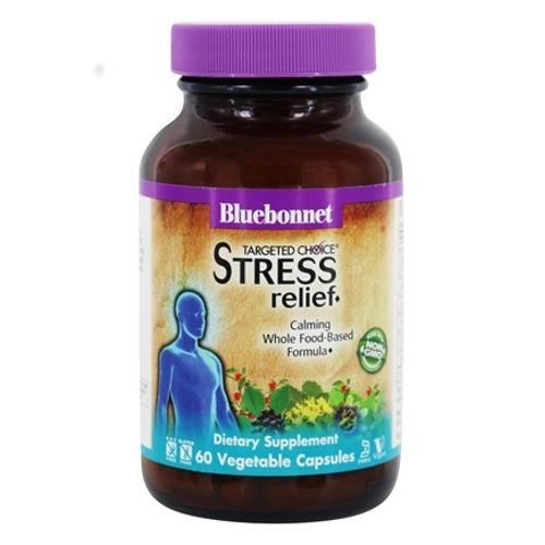 Bluebonnet Targeted Choice Stress Relief - 60 Capsules
