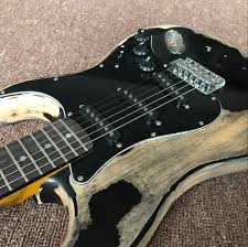 2017 Promotion Musical Instruments Handwork John Mayer Strat Limited Edition 1 Cruz Masterbuilt Heavy Relic St Electric Guitar In From Sports