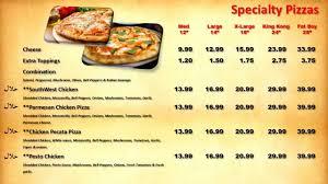 cuisine tv menut restaurant menu for led tv monitor by williams