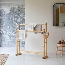 handtuchhalter aus bambus balyss