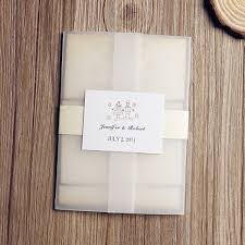 Vintage Rustic Romantic Pocket Wedding Invitation Kit EWPI084 2