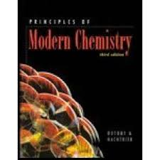 9780534493660 principles of modern chemistry sixth edition