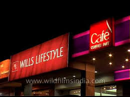 Wills Lifestyle And Cafe Coffee Day Shop In Agra