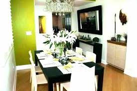 Contemporary Dining Room Decor Ideas House Design Pro Wall Decorating Unique For Rooms Modern Small