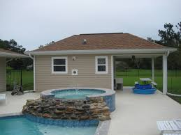 100 Photos Of Pool Houses Cabanas Outdoor Kitchens ECO Builders