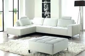 canap en cuir convertible canape en cuir blanc canape cuir blanc angle convertible canape cuir