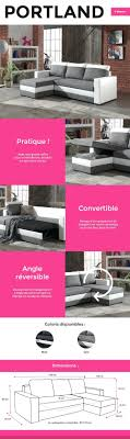 canapé d angle noir cdiscount cdiscount canap d angle convertible awesome canape convertible
