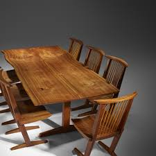 George Nakashima Valuations (browse Auction Results) - Mearto.com Nakashima Chair Couch Potato Company Chairs George Woodworkers Grass Seat At 1stdibs Nakashima Valuations Browse Auction Results Meartocom Designer Fniture Own The Original Wyeth For Sale Value Id F Medrermainfo Trestle Ding Table Converso Captain39s By At White Building Some Inspired Shop Update October 30 Room 21 Custom Style By Greg Pilotti Maker Orge Nakashima 051990 A Walnut Ding Table With Ten