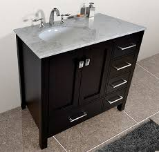 Single Sink Bathroom Vanity Top by Homethangs Com Has Introduced A Guide To Asymmetrical Bathroom