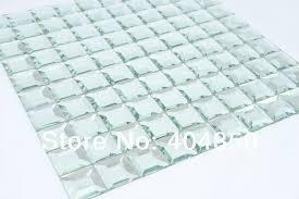 Bathroom Mosaic Mirror Tiles by Beveled Glass Mirror Tile Diamond Glass Silver Mirror Mosaic Tile