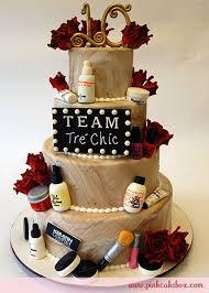 Makeup Salon Themed Celebration Cake Birthday Cakes