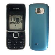 Image is loading Nokia C2 01 Blue Body Panel New Product