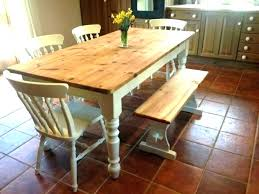 Long Dining Table With Bench Seat Nz Cushions Rustic Outdoor Seating Tab