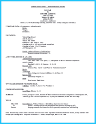 College Resume Examples Regular Best Current Student With No Experience Pb O123827