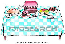 Stock Illustration Bake Sale Fotosearch Search Vector Clipart Drawings Print Murals