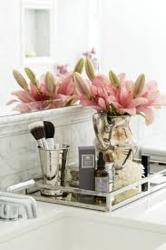 Bella Lux Crystal Bathroom Accessories by Best 25 Vanity Tray Ideas On Pinterest Dressing Table Decor