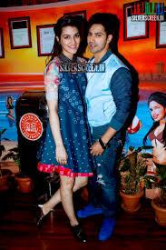 varun dhawan and kriti sanon at dilwale movie promotions photos