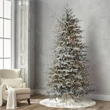 Fraser Christmas Tree Care by Diamond Dust Fraser Fir Quick Light Full Profile Tree Frontgate