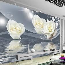 frische elegante weiße blume blase foto tapete wohnzimmer hintergrund wand 3d wandbild umweltfreundliche feuchtigkeit beweis fresken