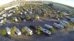 Hitchin Post RV Park Motel Aerial View Of The