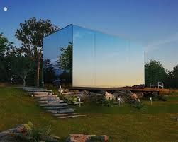 104 Modern Homes Worldwide Architecture On The Market This Mini Mirrored Prefab House Can Be Yours For Just 36 000 Architizer Journal