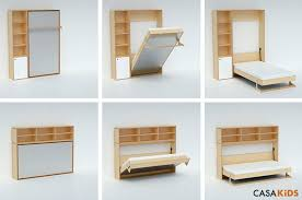 Casa Kids Tuck Bed Folds Away To Save Space