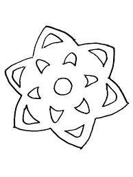 Coloring Pictures Of Snowflakes