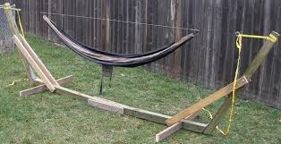 Finally Finished Portable Hammock Stand