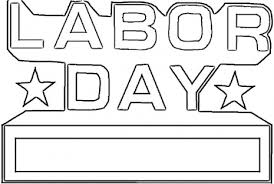 Labor Day Coloring Pages Free Nice Printable