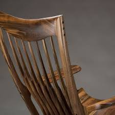 Sam Maloof Rocking Chair Plans by Classic Maloof Style Rocking Chair By Scott Morrison Fine Woodworker