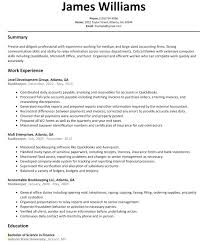 Bookkeeping Resume Sample Unique Bookkeeper Example Full Charge Free