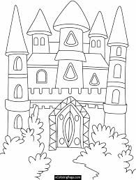 Book Coloring Disney Castle Page About Pages Az