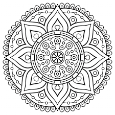 Coloring Page Mandala Pictures New At Benefits Adults Imgimg