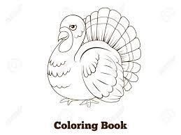 Livre De Coloriage Dessin Animé Turquie Vecteur éducatif