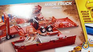 100 Cars Mack Truck Playset Story Set And Radiator Springs Lightning