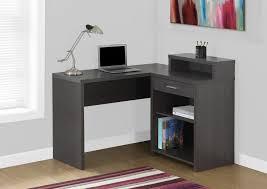 Altra Chadwick Corner Desk Black by 100 Magellan L Shaped Desk Hutch Bundle Outstanding L