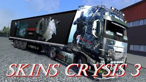 TRAILER KRONE PROFILINER – CRYSIS 3 V3 ETS2 -Euro Truck Simulator 2 Mods