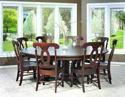 Large Round Dining Table Seats 6 8